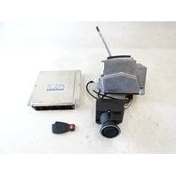 04 Mercedes R230 SL500 engine ignition ecu computer key fob & shifter 1131535479 keyless go