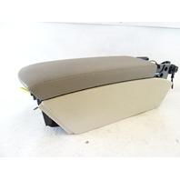 04 Mercedes R230 SL500 SL55 center console armrest storage 2306800050 beige