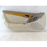 04 Mercedes R230 SL500 SL55 door panel, left, beige
