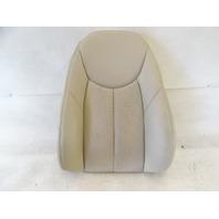 04 Mercedes R230 SL500 seat cushion, back, right, beige
