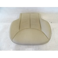 04 Mercedes R230 SL500 seat cushion, bottom, left, beige
