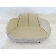 04 Mercedes R230 SL500 seat cushion, bottom, right, beige