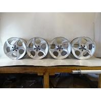 04 Mercedes R230 SL500 SL55 wheels, set of 4 2304011402 8.5x18, 2304011802 9.5x18