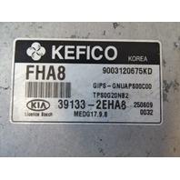 16 Kia Soul module, engine control 39133-2EHA8 2.0L