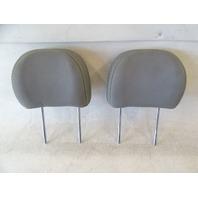16 Kia Soul headrest set, rear, gray cloth