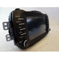 15 Kia Soul 2.0L  navigation unit, radio 96560-B2211CA