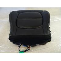 15 Kia Soul 2.0L seat cushion, bottom, right front, black leather