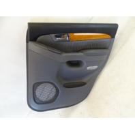 04 Lexus GX470 door panel, right rear 67630-60800 gray