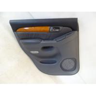 04 Lexus GX470 door panel, left rear 67640-60800 gray