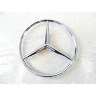 90 Mercedes W126 420SEL 560SEL emblem, on trunk lid star 115mm 1267580158