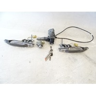 90 Mercedes W126 420SEL 560SEL lock set, ignition switch, door, w/key