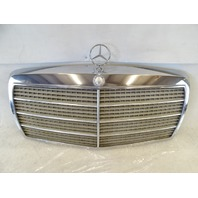 90 Mercedes W126 420SEL 560SEL grill, front hood grille OEM 1268880423