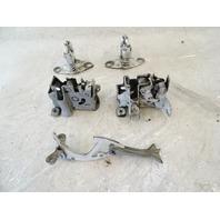 90 Mercedes W126 420SEL 560SEL hood hinge, set 1288801280 1268800060