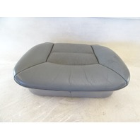 90 Mercedes W126 420SEL 560SEL seat cushion, bottom, right front, gray