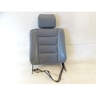 90 Mercedes W126 420SEL 560SEL seat cushion, back, right front, gray