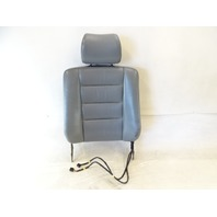 90 Mercedes W126 420SEL 560SEL seat cushion, back, left front, gray