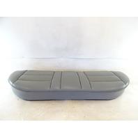 90 Mercedes W126 420SEL 560SEL seat cushion, bottom, rear, gray
