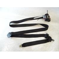 90 Mercedes W126 420SEL 560SEL seat belt, left front, black 1268603986