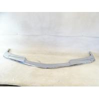 90 Mercedes W126 420SEL 560SEL trim, bumper, chrome, center front 1268852374 1268852274