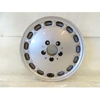 90 Mercedes W126 420SEL 560SEL wheel, OEM silver, 6.5x15 ET21 1264004102