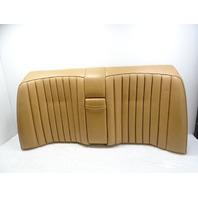 91 Mercedes W201 190E seat cushion, back, rear, palomino