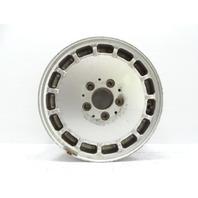 91 Mercedes W201 190E wheel, OEM silver, 6.5x15 ET49 2014011102
