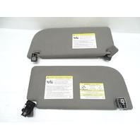 19 Ford F150 sun visors, set 74320-6A040 gray