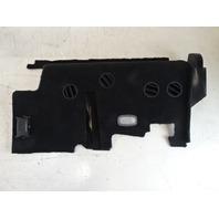 Mercedes W463 G550 G55 cover, lower dash panel, left, black 4638315545