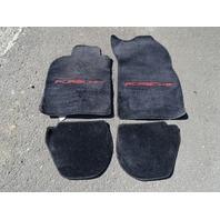92 Porsche 911 964 C2 carpets, floor mats, black
