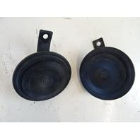 Mercedes W126 560SEL 420SEL horn set 0035428720 0035428820
