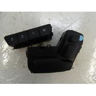 Mercedes W212 E63 E550 switch, seat adjust, right front 2128700710