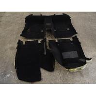 Mercedes W212 E63 E550 carpet set, floor 2126801041 2126801140 2126802540 black