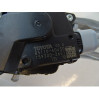 Lexus GX460 windshield wiper motor and linkage assembly front oem 85110-60430
