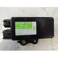 Lexus GX460 module, fuel pump control 89570-60180