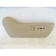 Lexus GX470 trim, interior outer cover, passanger seat, right front 71811-60240-A0 ivory