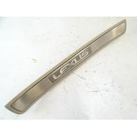 Lexus GX470 trim, door step, scuff plate, inner left rear  67916-60020 ivory
