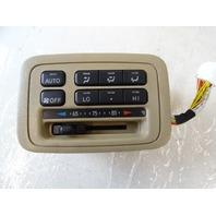 Lexus LX470 switch, ac climate control, rear, tan 88610-60130
