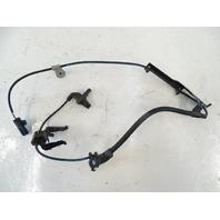 10-15 Lexus RX350 RX450h sensor, abs brake speed sensor, left front, oem