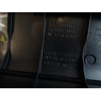 10-15 Lexus RX350 RX450h trim, door step sill scuff plate, black, right front, 67910-0e020