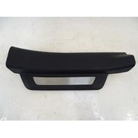 10-15 Lexus RX350 RX450h trim, door step sill scuff plate, black, right rear, 67930-0e020