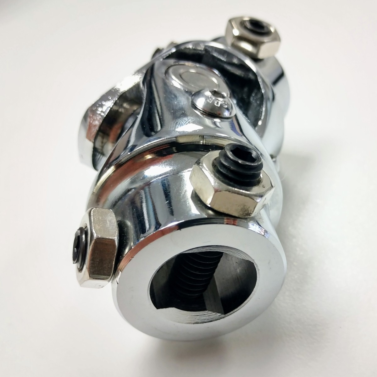 "Forged Steel Chrome Universal Single Steering U-Joint 3//4/"" DD x 3//4/"" DD"