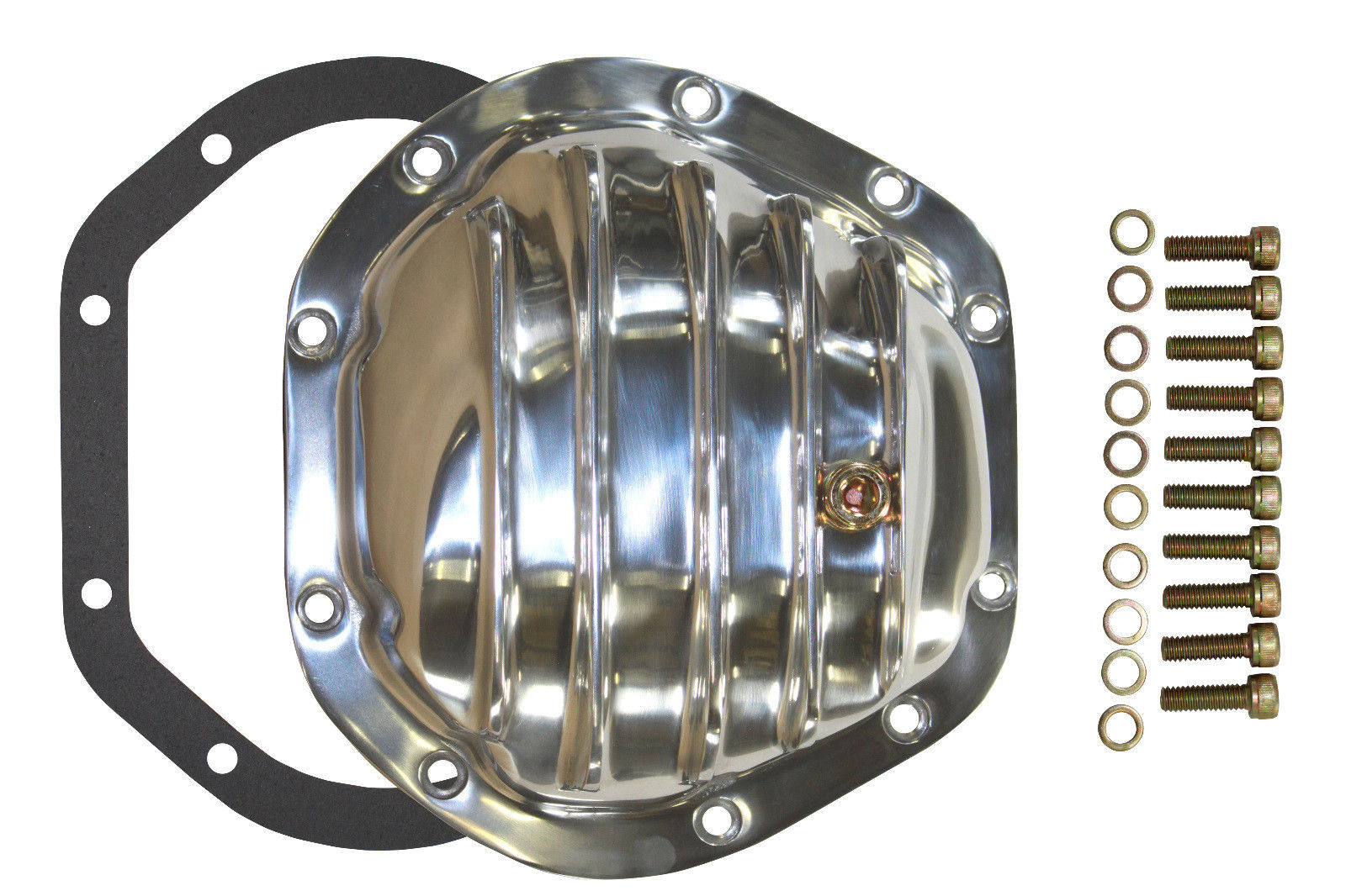 Dana 44 10 Bolts Polished Aluminum Rear End Diff Cover