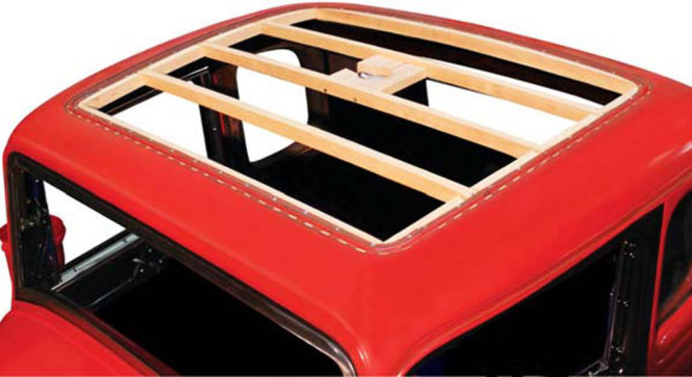 Ub Ford Window Coupe Top Wood Assembly