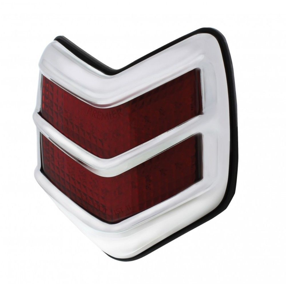 1940 FORD PASSENGER DELUXE TAIL LIGHT WITH RED LENS