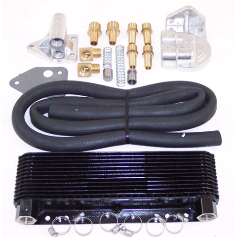 VW  Bug  Type 2 Sand Rail Dune Buggy Competition 24 Plate Oil Cooler Kit  9272