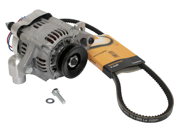 Smallternator Alternator 55-60 Amp Kit, Compatible with Volkswagen Type 3