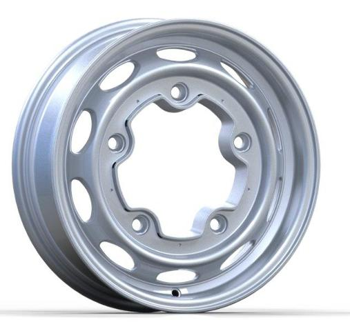 EMPI Aluminum Vintage 190 Silver 15 x 4.5 5x205 For Classic VW Beetle Dune Buggy