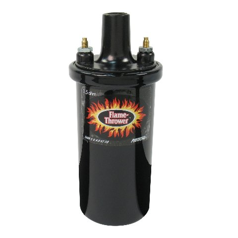 PERTRONIX COIL BLACK EPOXY, 40,000 Volts, 1.5 Ohms
