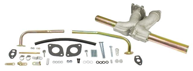 "Manifold Kit, Single ""D"" Carburetor, Fits IDF & HPMX"
