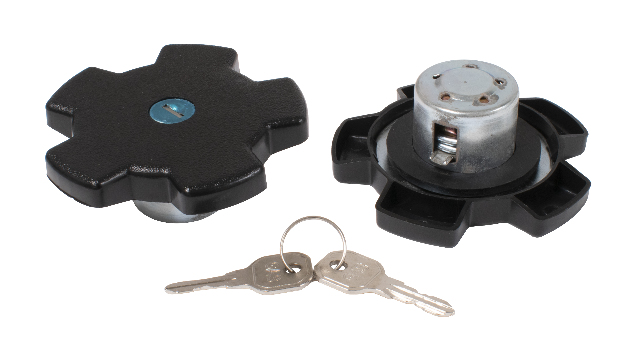 Locking Gas Cap w/ Keys, 76-80 Rabbit (German, gas/diesel), 79-84 Jetta Diesel, 76-79 Scirocco